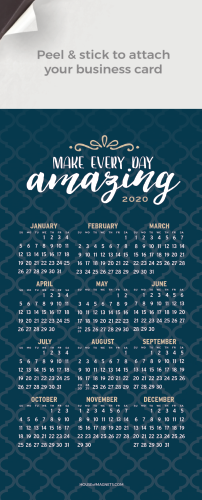 Picture of 2020 QuickStix Calendar Magnets - Make Every Day Amazing