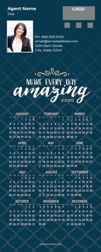 Picture of 2020 QuickCard Calendar Magnets - Make Every Day Amazing