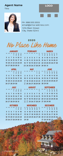 Picture of 2020 QuickMagnet Calendar Magnets - No Place Like Home