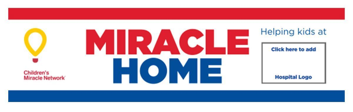 RE/MAX Children's Miracle Network Rider Sign