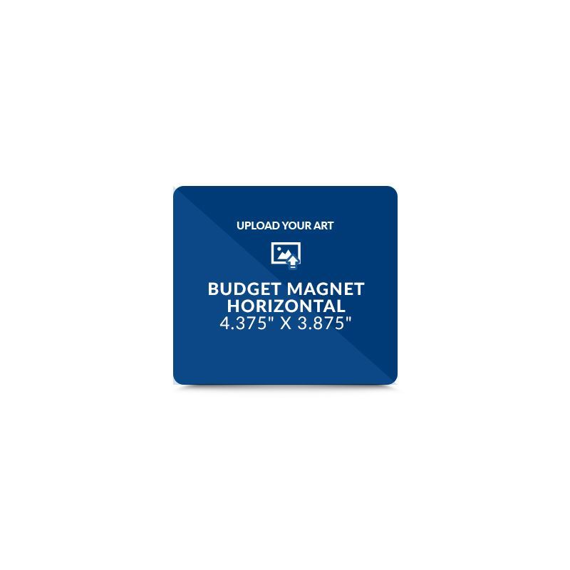 Picture of Your Artwork - Budget Full Magnet: Horizontal