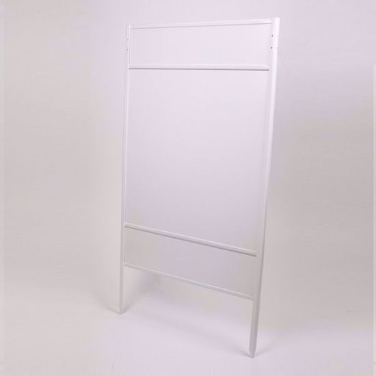 Picture of Double Stake Frame - 24x24 - Double Rider - White:
