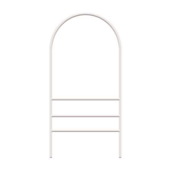 Picture of Dome Top Angle-Iron Frame - Double Rider - White
