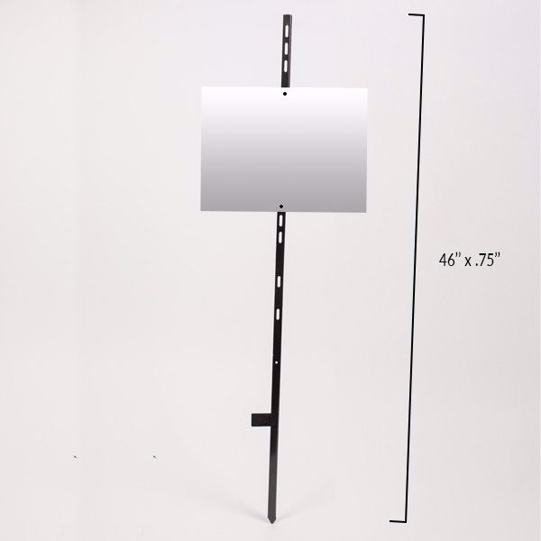 Picture of Angle Iron Stake - 46 Inch - Black: